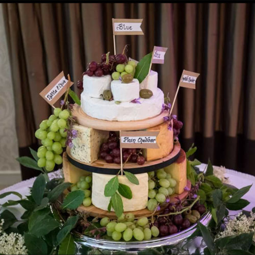 wicklow cheese wedding cake